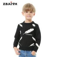 Одежда для маленьких мальчиков шерстяной вязаный свитер детский