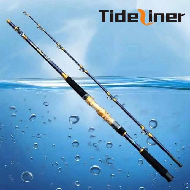 1 8m 2 1m 2 4m carbon fiber jigging boat fishing rod trolling fishing rod spinning