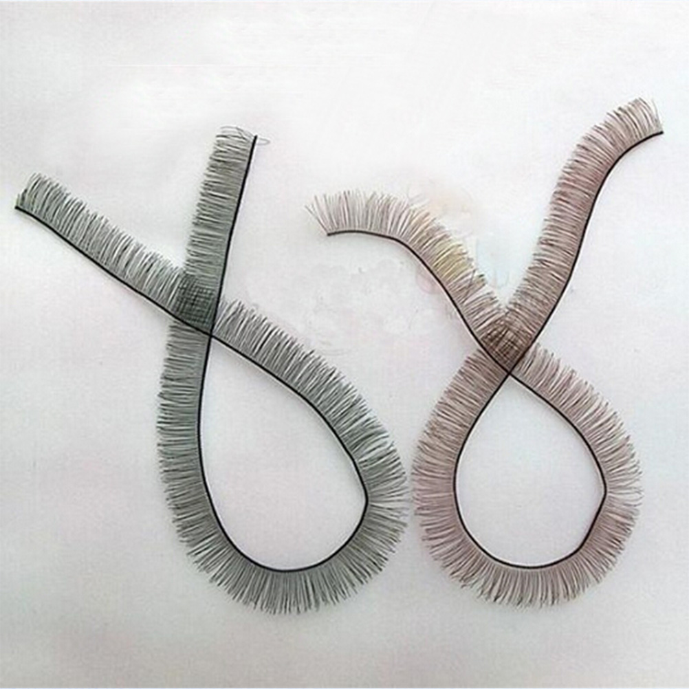 For 1/3 <font><b>1/4</b></font> For <font><b>BJD</b></font> Doll Doll Accessory 20cm Length*8mm Width Eyelashes Make Up <font><b>Eye</b></font> Line Strips Baby Dolls Accessories image
