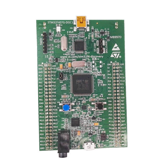 STM32F4DISCOVERY/STM32F407G-DISC1, STM32F4 Discovery Kit with Stlink V2