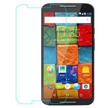 Premium 9H Tempered Glass For Moto X FORCE Play Style Screen Protector HD Protective Film(China)