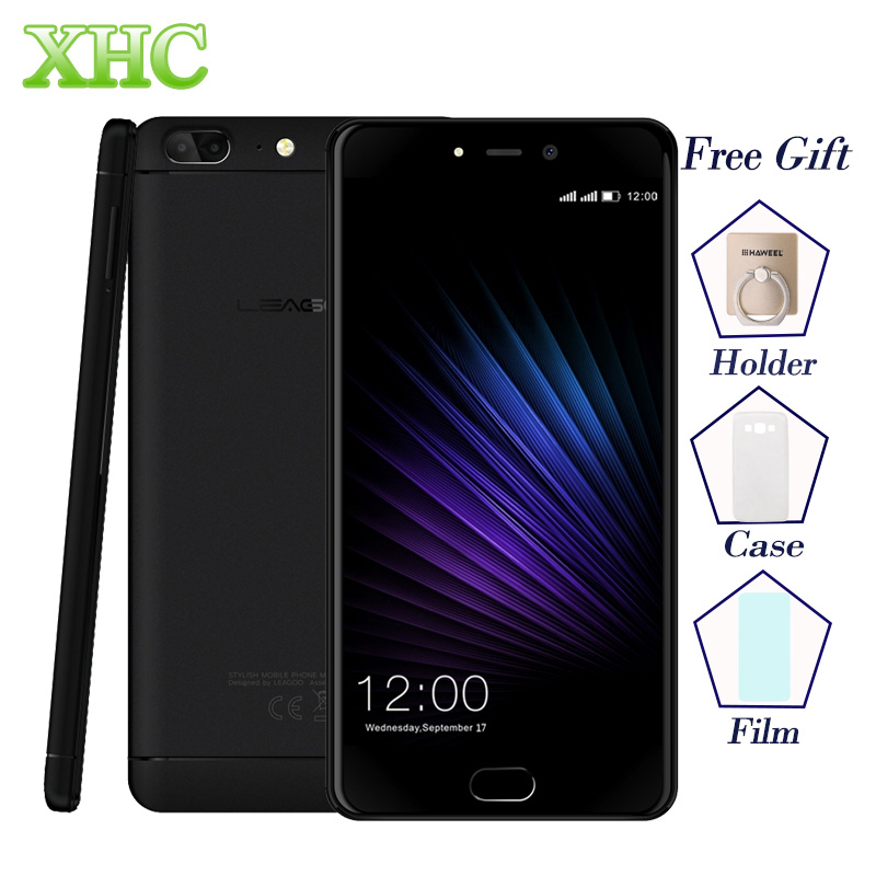 LEAGOO T5 5 5 Mobile Phones Dual SIM RAM 4GB ROM 64GB Dual 13 0MP Fingerprint