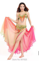 new design hot selling belly dance bra belt set costumes,ACCEPT CUSTOM MADE ANY SIZE