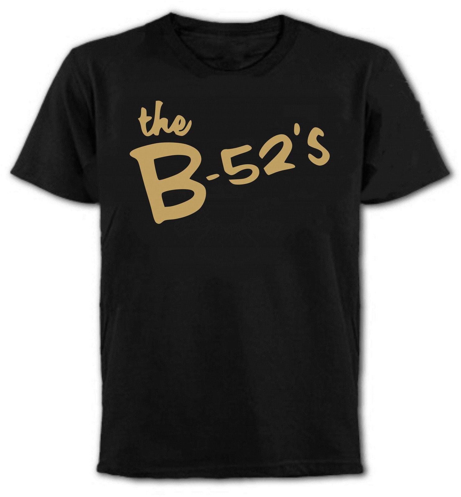 Latest hot cool El B-52S Logo Camiseta-Post Punk Pop Roca-Todas Las Tallas & Colores Design Mens Summer Short Sleeve Tee