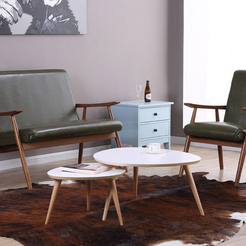 2 Pieces For A Lot Living Room Furniture Modern Design Birch Wood Triangle  White Coffee Tables In Coffee Tables From Furniture On Aliexpress.com |  Alibaba ...