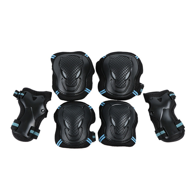 Adult / Child Ice-skating Knee Pads Elbow Pads Wrist Guards  Protective Gear Set For Outdoor Activities Elbow Pads  ASD88