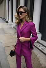 цена CUSTOM women business suits 2 piece set women tuxedo female trouser suit ladies office uniform elegant pant suit в интернет-магазинах