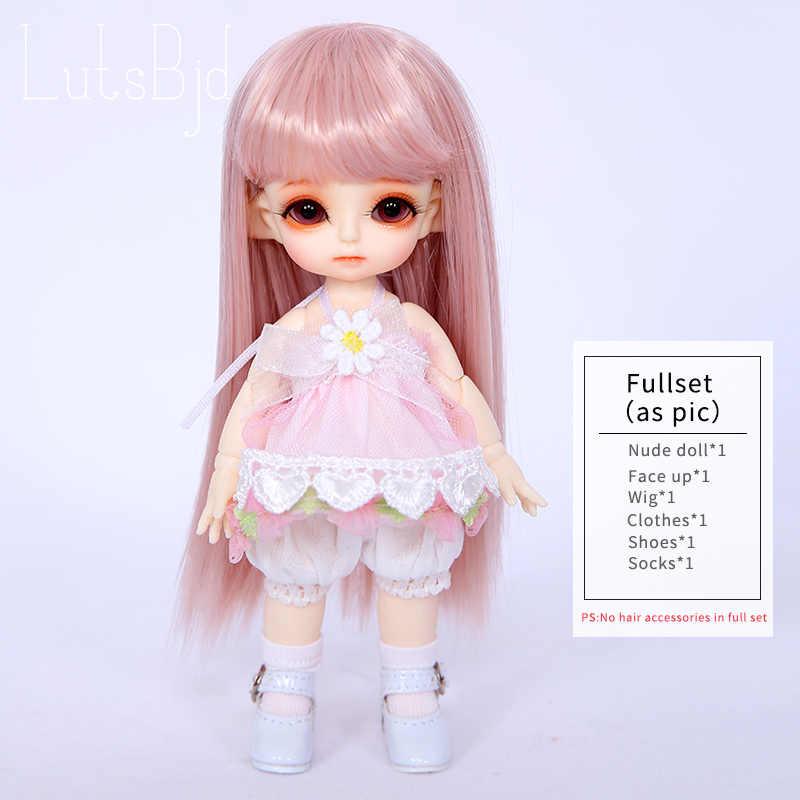 Lutsbjd Luts Tiny Delf Tyltyl голова эльфа 1/8 BJD кукла смолы фигурки Luts AI YOSD комплект куклы игрушки для девочек на день рождения Рождественские лучшие подарки