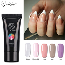 Gelike Poly Gel Colorful Nail Acrylic Polish UV For Best Extensions Builder Nails