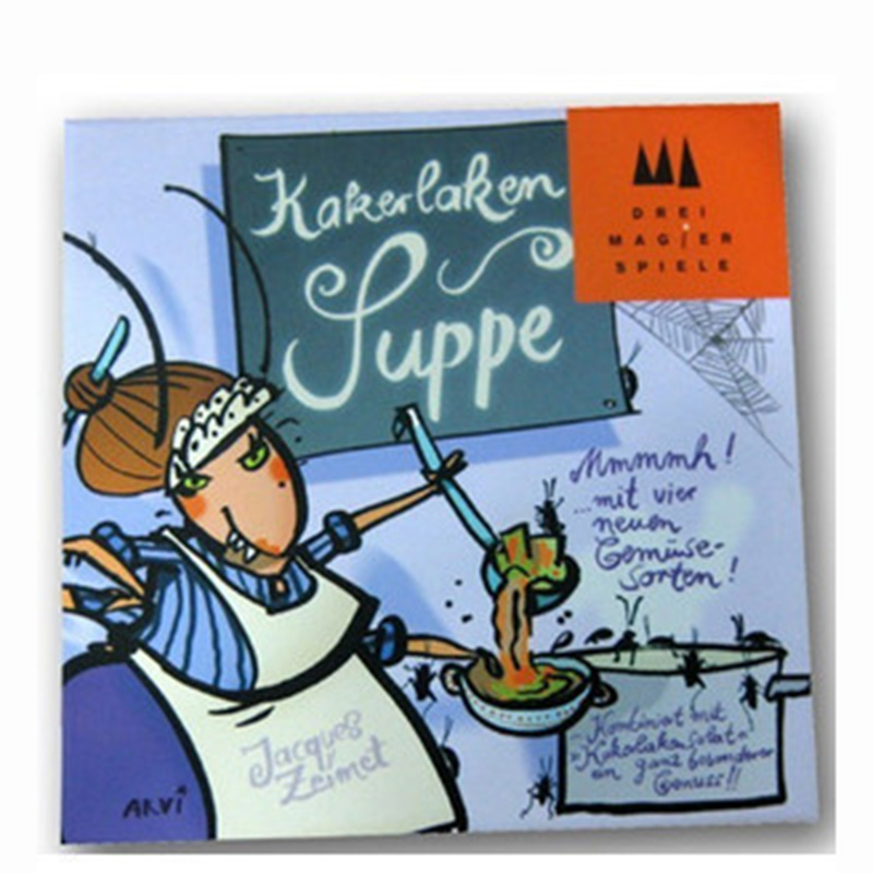 Kakerlaken Suppe Board Game 2-6 Players to Play Family/Party/Friends Funny Party Game Send English Instructions to Email