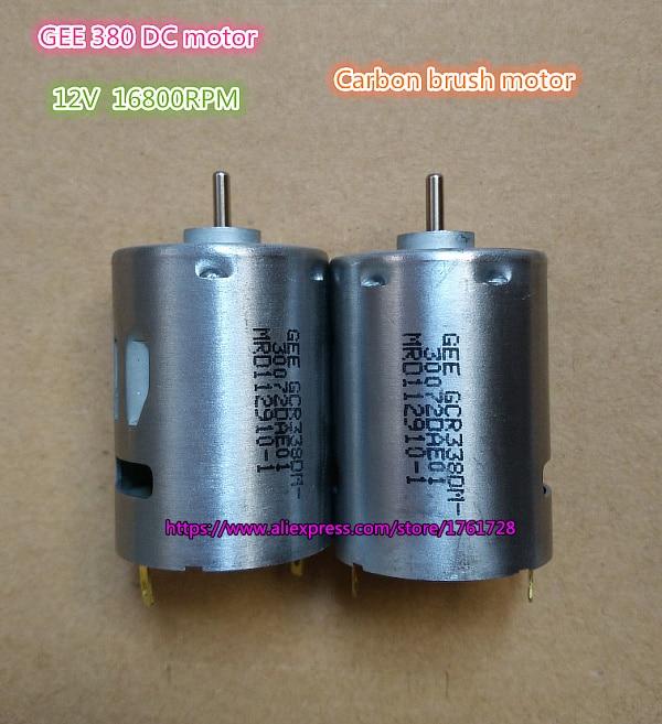 1PCS For MABUCHI RS-380SH-10500 DC24V 4800rpm Strong Magnetic Carbon Brush Motor