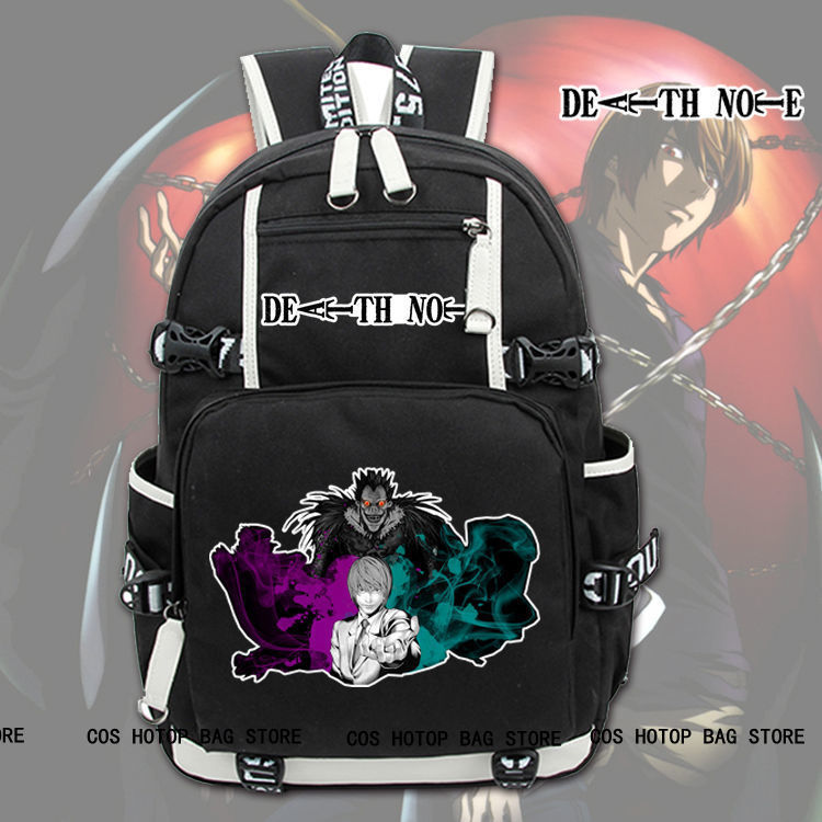 Anime Death Note Backpack Knapsack Packsack Travel Study School Bags Otaku Shoulders bag Package laoa shoulders backpack tool bag multiction oxford fabric electrician bags knapsack for eletricista tools storage