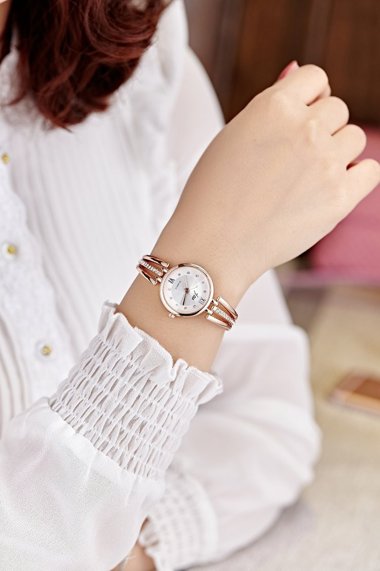 New Fashion Rhinestone Watches Women Luxury Brand Stainless Steel Bracelet watches Ladies Quartz Dress Watches reloj mujer AC070 24