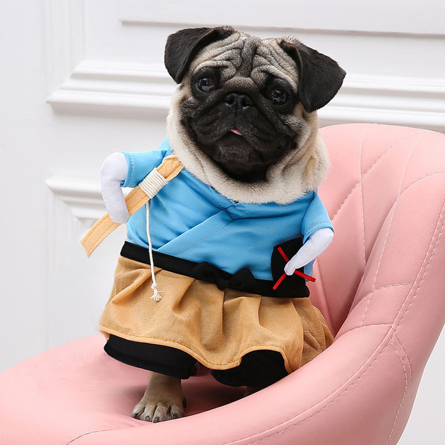 bc49790e9456 New Arrival Dog Cat Costumes Urashima Taro Cosplay Suit Pet Clothing  Halloween Christmas Clothes For Puppy Dog Costume for a cat