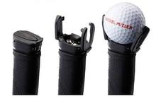 Kostenloser versand Schwarz kunststoff Putter Grabber Mini Golf Ball Pick Up Retriever mini golf ball picker