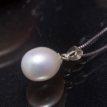Natural freshwater pearl jewelry set  silver