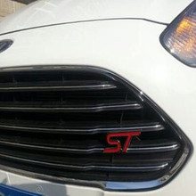 Blue Red Chrome Metal S RS ST Emblem