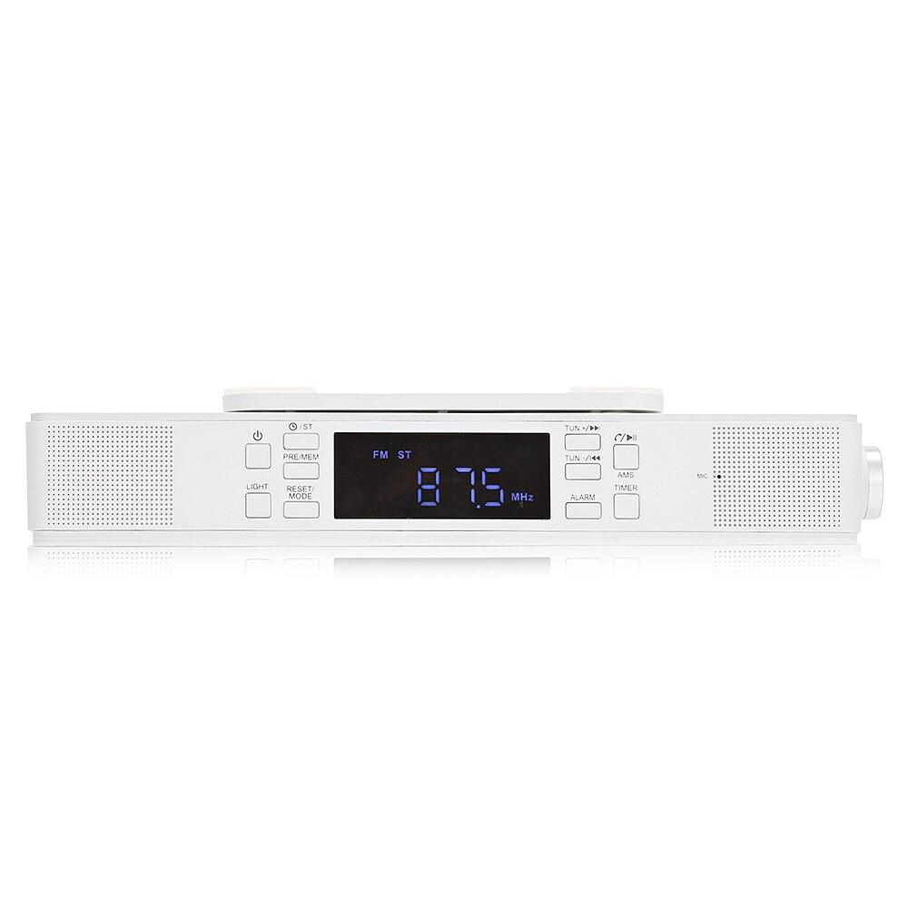 Mesuvida Bts 23 Under Cabinet Bluetooth Kitchen Stereo Speaker Digital Radio Fm Built In 9 Leds Light Subwoofer From Consumer