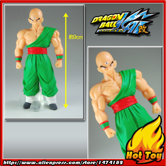100% Original BANDAI Gashapon PVC Toy Figure HG Part 20B - Tenshinhan from Japan Anime Dragon Ball Z