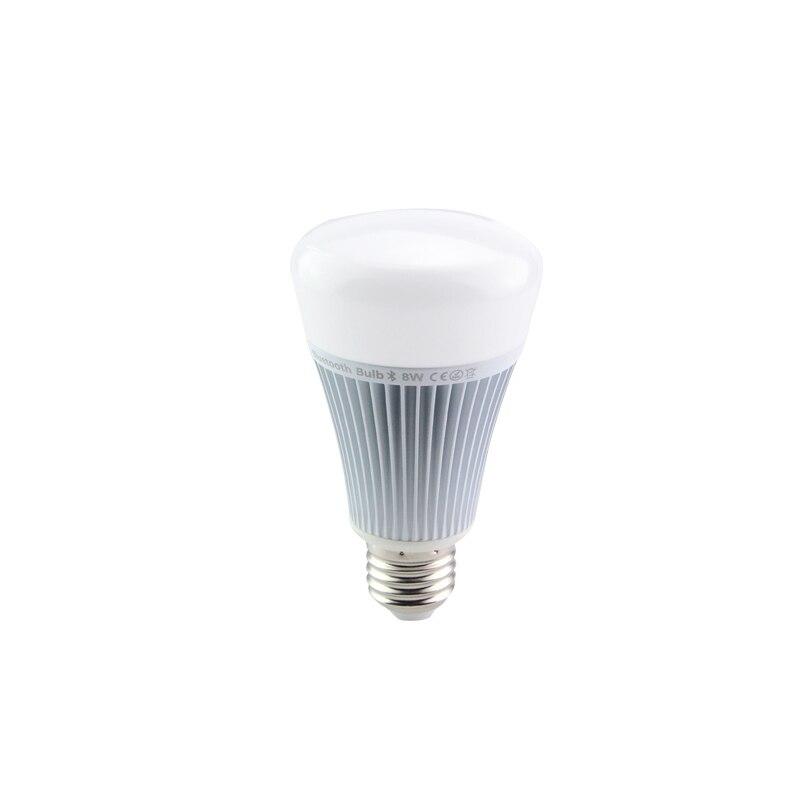 Mi Light E27 8W Bluetooth 4.0 RGB LED Bulb 110V 220V Smart Light with Smartphone App Remote Control For Android IOS