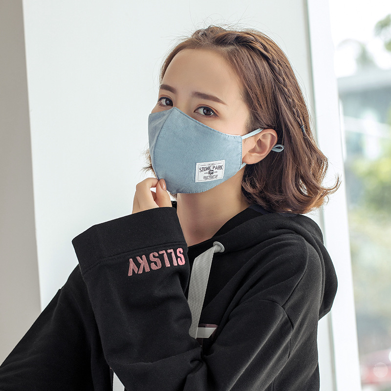 Intelligente 1 Pz Viso Maschera Maschera Di Polvere Anti-inquinamento Maschera 2018 Nuove Donne Degli Uomini Maschere Di Modo Unisex Traspirante Bocca Maschera Riutilizzabile M010