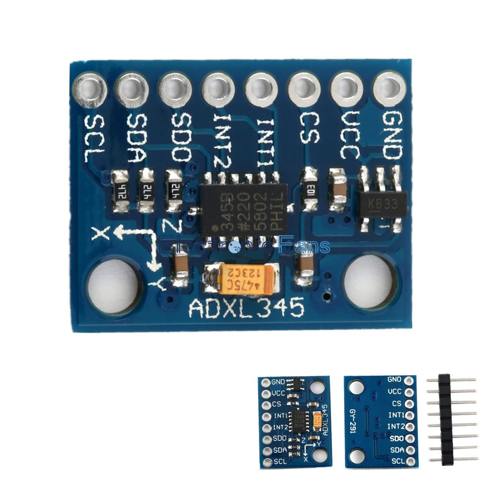 1pcs Ds3231 At24c32 Iic Precision Rtc Real Time Clock Memory Module Realtime Calendar Ic Electronics And Electrical Engineering Gy 291 Adxl345 3 Eje Digital Sensor De La Gravedad Aceleracin