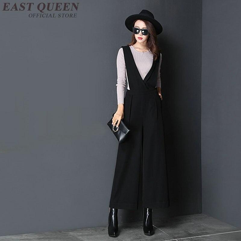 где купить Elegant womens jumpsuit black business ladies suits woman jumpsuits for women 2018 womens rompers jumpsuit AA3348 Y по лучшей цене