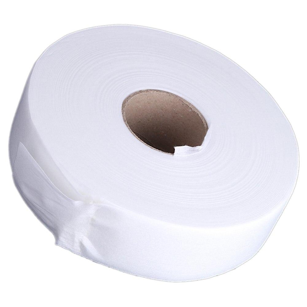 100 meter Kertas Obat Menghilangkan Rambut, Wax Strip, Non woven Kertas Waxing Peran (Putih)