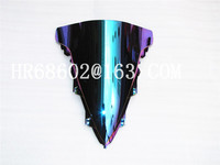 For Yamaha YZF 1000 R1 2009 2010 2011 2012 2013 2014 Iridium Windshield WindScreen Double Bubble yzf r1 09 10 11 12 13 14 CC