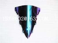 For Yamaha YZF 1000 R1 2009 2010 2011 2012 2013 2014 Iridium Windshield WindScreen Double Bubble yzf r1 09 10 11 12 13 14 CC