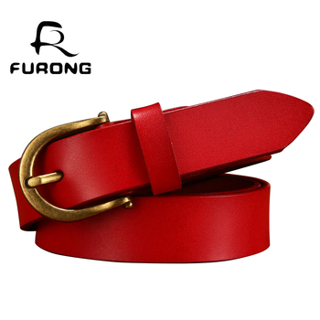 Cowskin Leather Women Belt