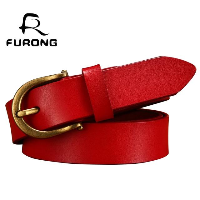 224c1f35e6402 Designer Belts Women Gifts Cowskin Leather Women Belt Genuine Leather Drop  Shipping Jeans Pin Buckle Belt Female Best Quality