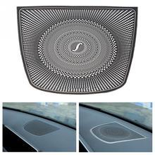 Новый Dashboard Динамик Рог Рамка украшения обложки наклейки на автомобиль для BMW X5 X6 F15 F16 2014-2018 автомобильные аксессуары