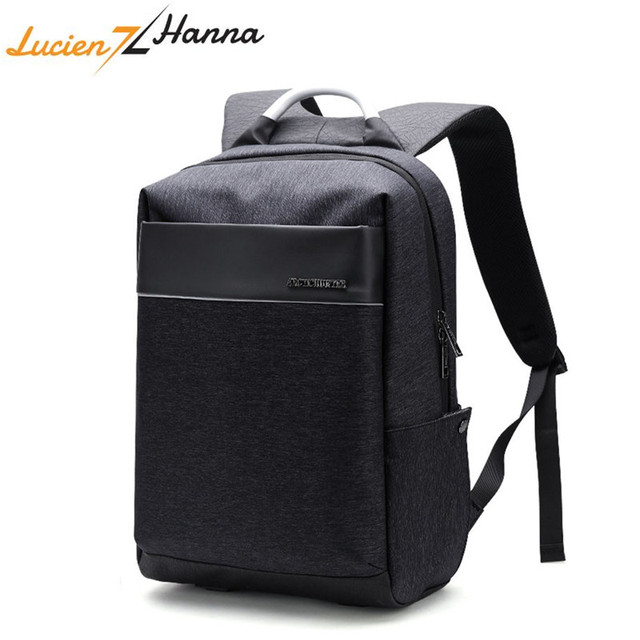 New Laptop Backpack Men Fashion College Students USB Charging Schoolbag Business Traveling Waterproof Casual Style Computer Bag