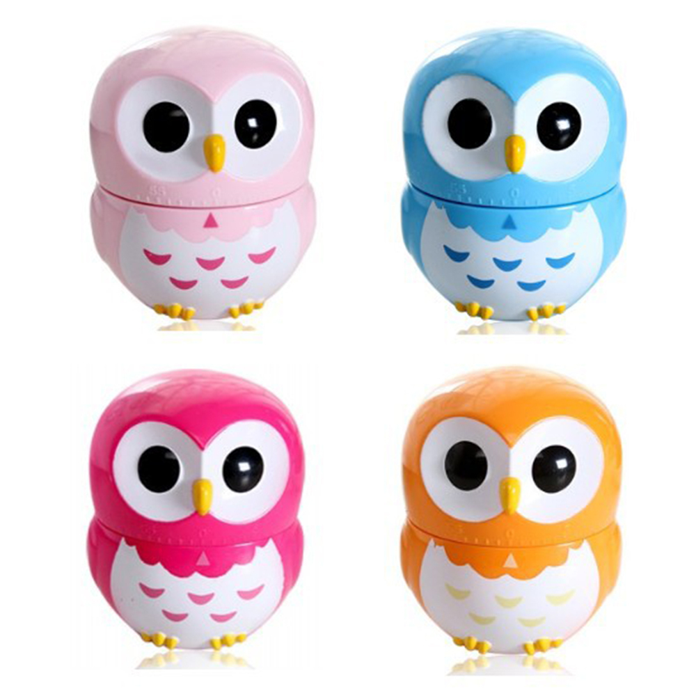 Charmant Portable Cute Colorful Fun Mechanical Kitchen Owl Timer, 60 Minute Timer  For Cooking Baking Gifts 60 Minute In Kitchen Timers From Home U0026 Garden On  ...
