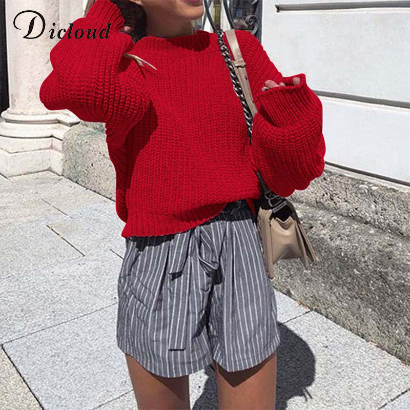 8317cd3d340 Buy red oversized sweater and get free shipping on AliExpress.com
