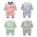 Baby rompers горячей 100% хлопок мальчиков/девочек животных одежда infant/новорожденных/детская одежда