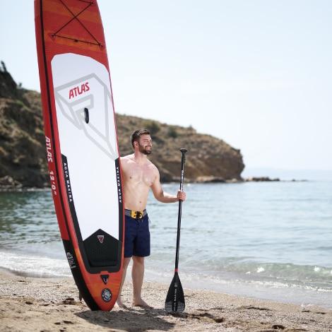 AQUA MARINA ATLAS 366 84 15cm Inflatable Stand Up Paddle Board Sup board