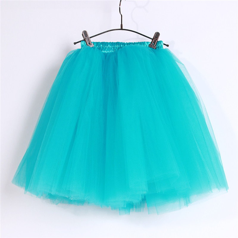 Girls Turquoise Tulle Dress