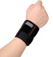 1 piece Có Thể Điều Chỉnh bóng rổ cầu lông vợt Cổ Tay WRISTGUARD Bracer pad cuff hỗ trợ bảo vệ bảo vệ nhạc belt