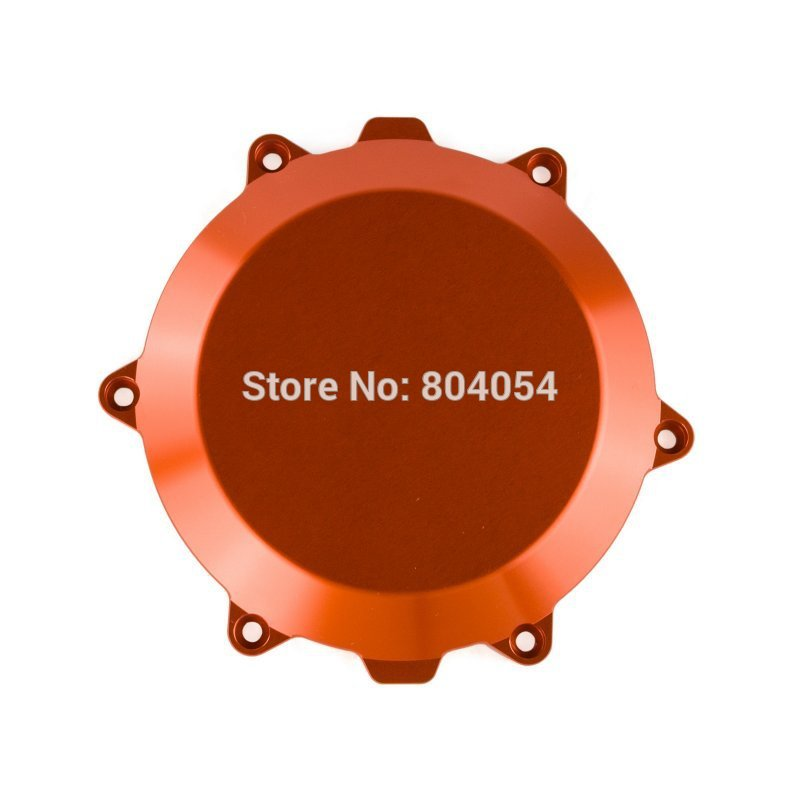 Orange CNC Billet Engine Outside Clutch Cover For KTM 450 SX-F/XC-F 2007 2008 2009 2010 2011 2012 aluminum alloy radiator for ktm 250 sxf sx f 2007 2012 2008 2009 2010 2011