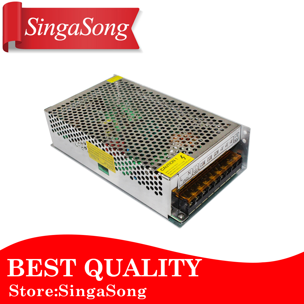 12V 10A 120W Switching power supply Driver For LED Light Strip Display AC100-240V Factory Supplier free shipping.