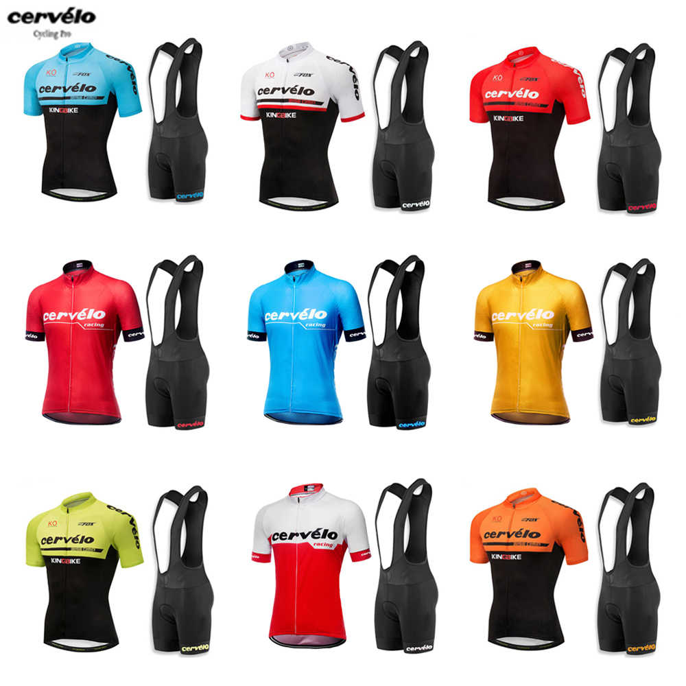 d1e50cc6c High Quality Cycling Jersey Set 2019 Pro UCI Team Mens Summer Short Sleeve  Cycling Clothing MTB
