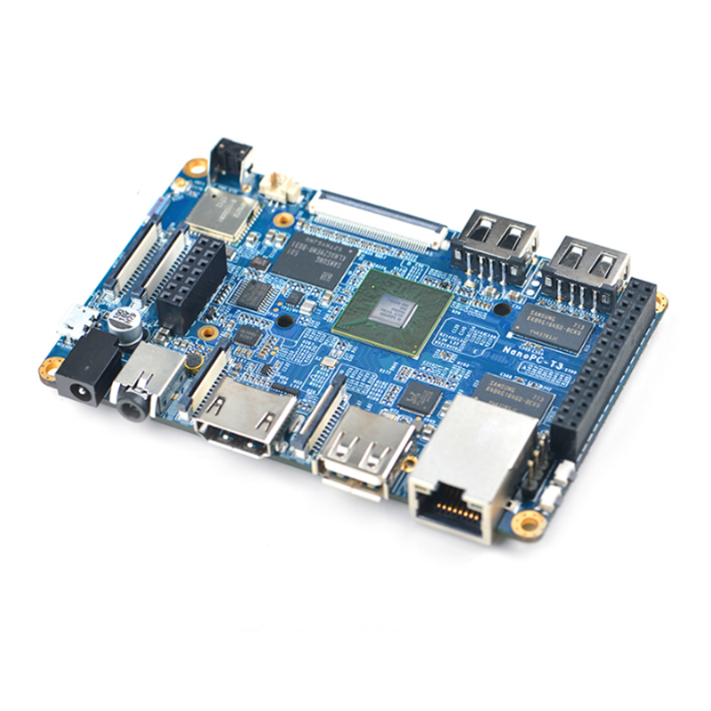 NanoPC-T3 (2GB) Eight-core A53 S5P6818 Ubuntu Development Board for Android WiFi Bluetooth ...