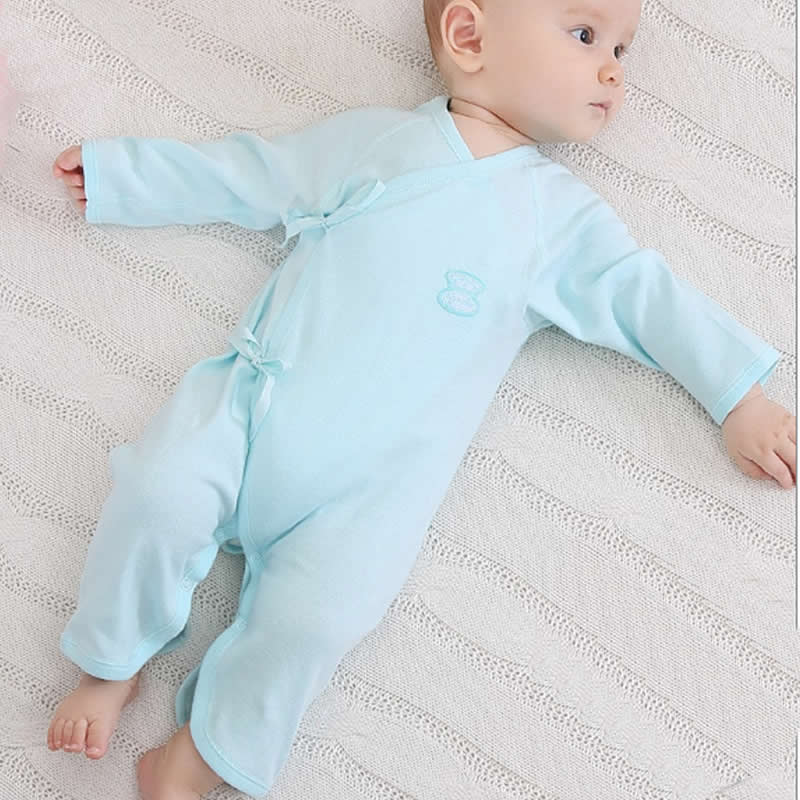 Newborn Baby Onesies Spring Autumn Rompers New born Clothes 0-3 months Cotton 6 Baby Butterfly Harem Underwear Clothing