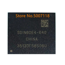 SDIN8DE4 64G bga 64 gb emmc 100% novo original