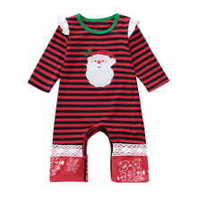 Christmas Newborn Infant Baby Girl Boy Clothing Set