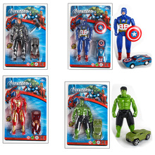 Marvel Avengers 4 Infinity War Movie Anime Super Heros Captain America Ironman Spiderman Hulk Thor Superhero Action Figure Toy