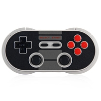 Original 8 8bitdo NES30 Pro Sem Fio Bluetooth Gamepad/Controlador USB Dupla Joystick Clássico para Android, Windows, Mac OSX, Interruptor