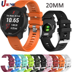 Watchband-Strap Smart-Bracelet Vivoactive Garmin Forerunner 20mm Silicone 245 Colorful